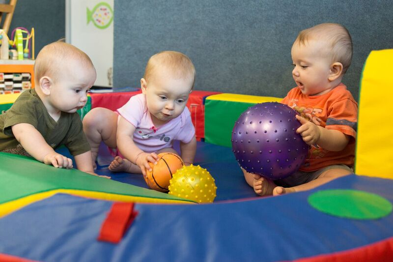 Dawn of discovery childcare infant daycare curriculum for Gross motor skills for infants